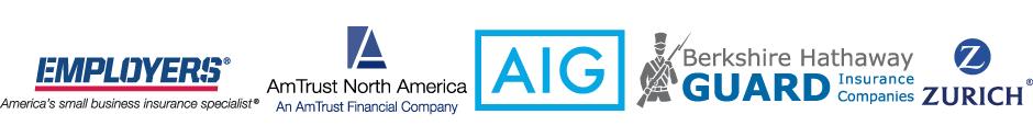 AIG, Berkshire Hathaway Guard Insurance Companies, Zurich, AM Trust North America